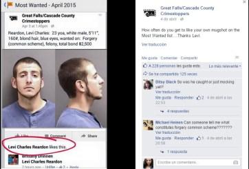 """Un """"like"""" en Facebook llevó a su captura"""
