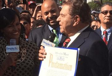 VIDEO: Don Francisco Boulevard se inaugura en Nueva York