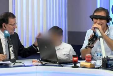 Video: hijo de Primer ministro español lo pone en aprietos ¡en plena transmisión!
