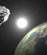 Asteroide gigante pasará cerca de la tierra en Navidad