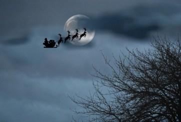 Los regalos de Navidad por parte del espacio: Luna llena y asteroide
