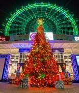 Se prende la Navidad en el Orlando Eye