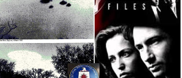Revela CIA sus expedientes X de reportes reales