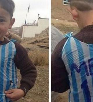 Vivió un sueño y ahora vive una pesadilla, niño que conoció a Messi
