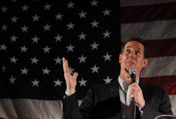 """Rick Santorum pide apoyo para """"el talentoso"""" Marco Rubio"""