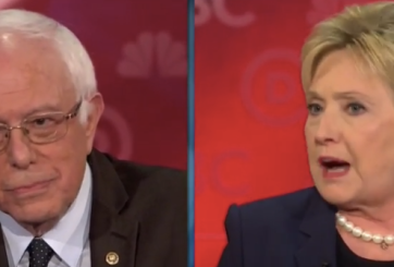 VIDEO: Clinton abucheada en debate por ataque contra Sanders