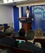 VIDEO: Desde la Casa Blanca reacionan a los resultados de Iowa