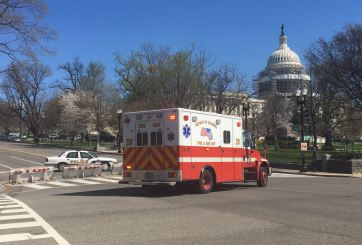 VIDEO: Detienen a presunto agresor tras tiroteo en el Capitolio
