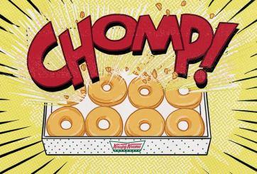 Krispy Kreme celebra el día del superhéroe con donas gratis
