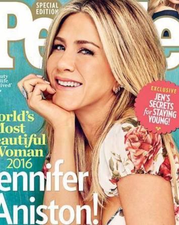 People eligió a Jennifer Aniston como la mujer más bella