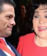 Carmen Salinas alaba a Peña Nieto por su apoyo hacia los gays