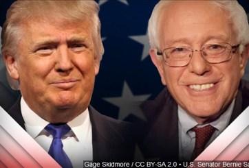 Dan triunfo a Trump y Sanders en las primarias de Indiana