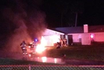 Incendio destruye una RV en el Condado Brevard