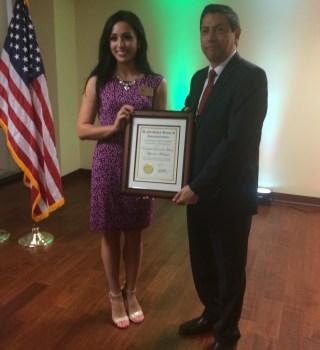 Presentan al nuevo cónsul de México en Las Vegas