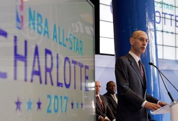 La NBA canceló el Juego de Estrellas Charlotte 2017