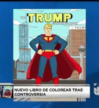 Publican libro para colorear de Donald Trump