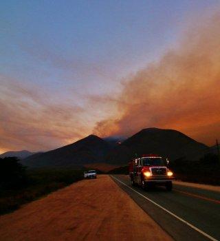 Alerta de condición Santa Ana y cortes de energía en San Diego