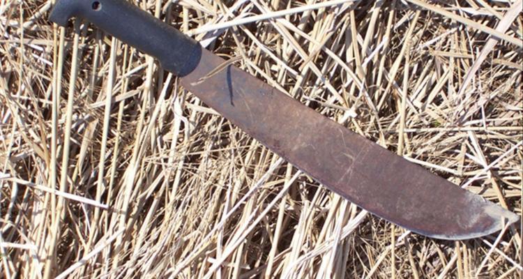 Denver: sujeto armado con machete es atropellado por patrulla de policía