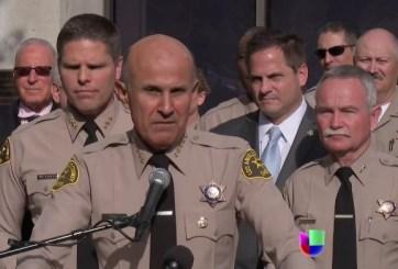 Juez rechaza solicitud de 6 meses de cárcel para ex Sheriff de Los Ángeles