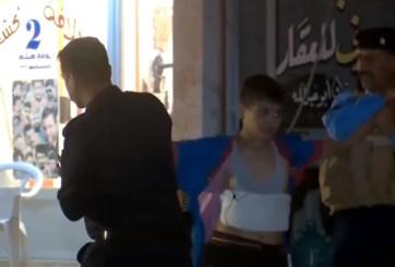 VIDEO: Capturan a niño con cinturón de explosivos en Irak