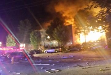 Fotos y Videos: Explosión en apartamento de Maryland deja 30 heridos y 7 desaparecidos