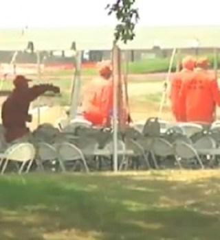 VIDEO: Reclusos apoyan a bomberos contra incendio Soberanes
