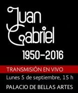 Transmisión en vivo del homenaje a Juan Gabriel