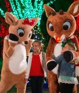 SeaWorld Orlando recibe a Rudolph para la navidad