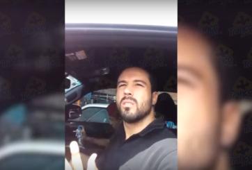 VIDEO: Hermano de 'Canelo' Álvarez intenta intimidar a policía que lo infraccionó