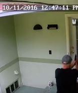Video: Les dispara a sus vecinos al desalojarlo de su apartamento en Florida
