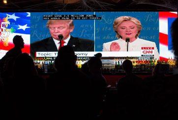 Obama felicita a Clinton tras debate, encuestas la dan como ganadora