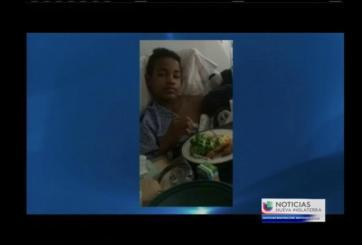 VIDEO: Adolescente herido por bala perdida