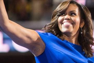Michelle Obama es la más admirada, Trump y Obama empatan