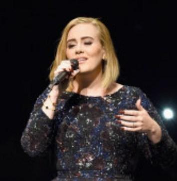 Adele rinde homenaje a empleados de la salud y deja a todos sorprendidos