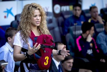 Primogénito de Shakira y Piqué fue hospitalizado