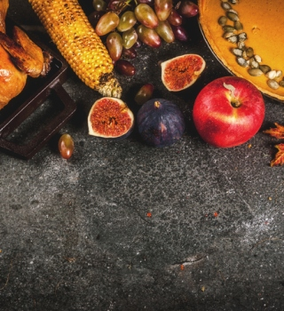 8 platos tradicionales y bajos en calorías para la cena de Thanksgiving