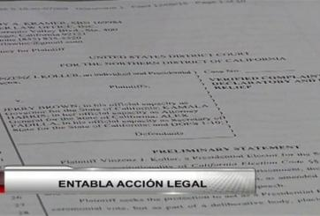 VIDEO: Elector entabla acción legal para buscar otro candidato presidencial