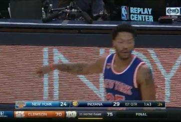 VIDEO: Los Knicks multaron a Rose por misteriosa ausencia