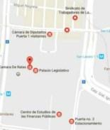 Renombran Palacio Legislativo en México en Google Maps