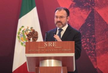 Aseguran que canciller mexicano editó discurso de Trump