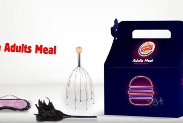 Burger King venderá cajitas felices para adultos
