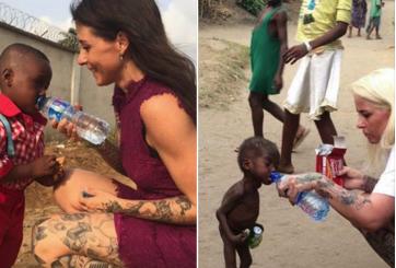 """Así se ve después de un año el bebé abandonado por ser """"brujo"""" en Nigeria"""