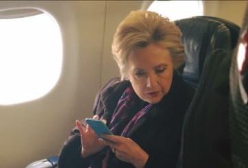 FOTO: Una imagen de Hillary Clinton se ha vuelto viral en redes sociales