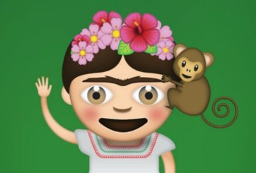 Crean emojis con las obras de Frida Kahlo