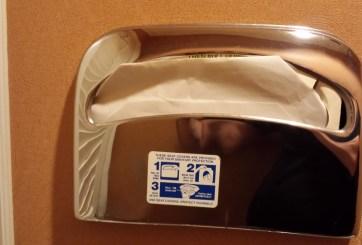 Este es el riesgo de no usar protectores desechables para el inodoro