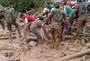 Se eleva la cifra a más de 200 muertos por avalancha en Colombia