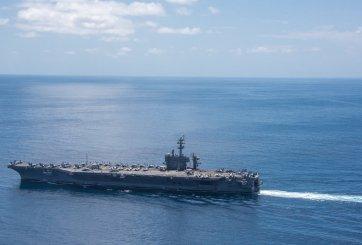 Armada de EEUU es enviada a la Península de Corea en dirección opuesta