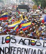 Desesperación obliga a venezolanos a manifestarse contra Maduro