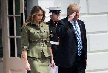 Donald  y Melania Trump dan positivo por coronavirus