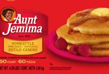 Retiran productos marca Aunt Jemima por posible contaminación por Listeria
